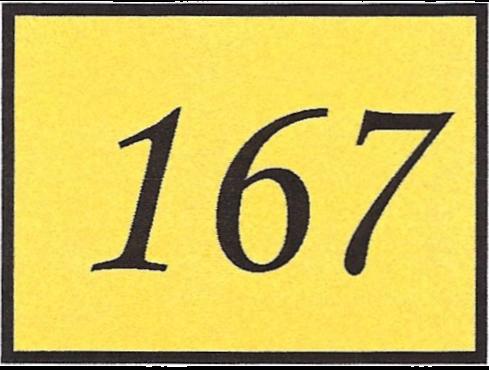 Number 167