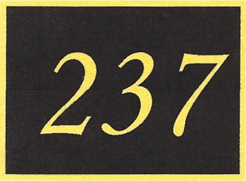 Number 237