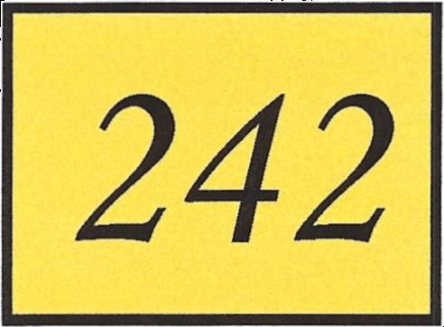 Number 242