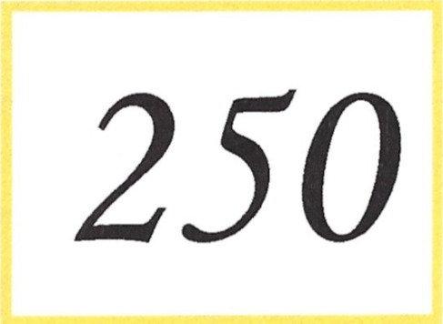 Number 250
