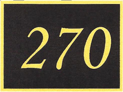 Number 270