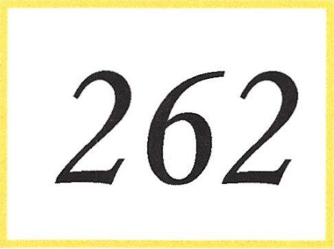 Number 262