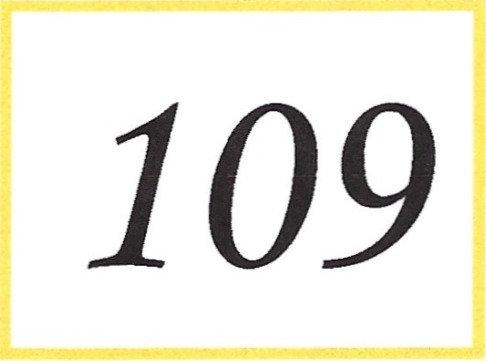 Number 109