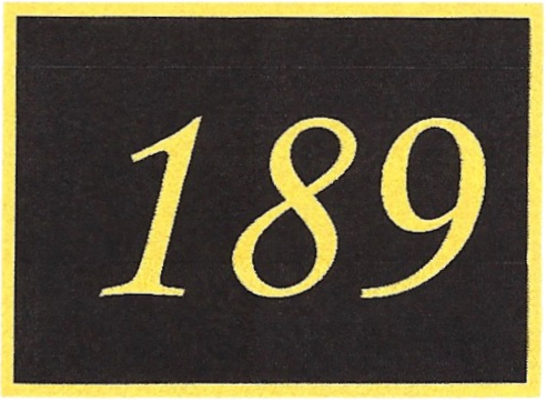 Number 189