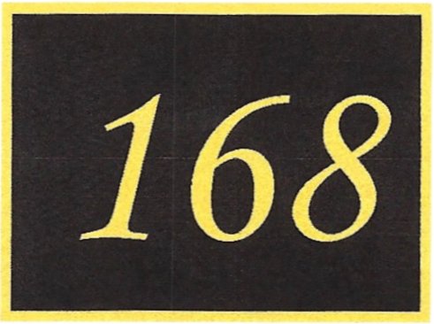 Number 168