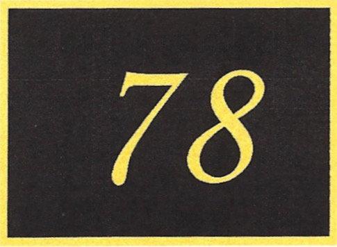 Number 78