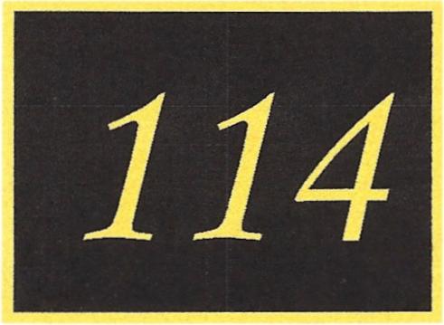 Number 114
