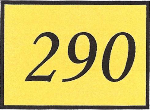 Number 290