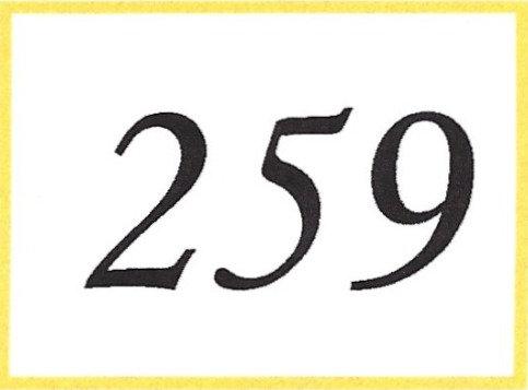 Number 259