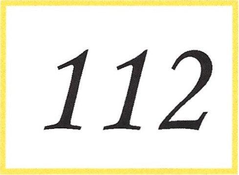 Number 112