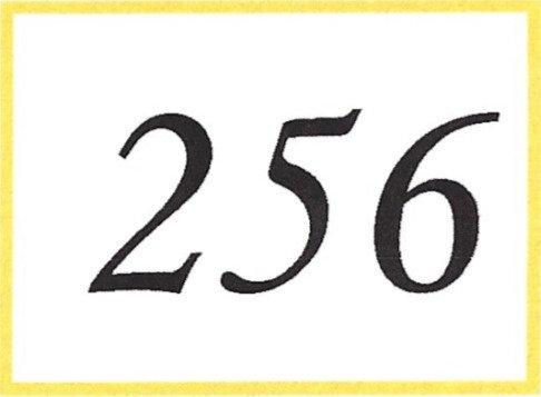 Number 256