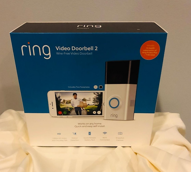 Ring Video Doorbell Raffle Ticket