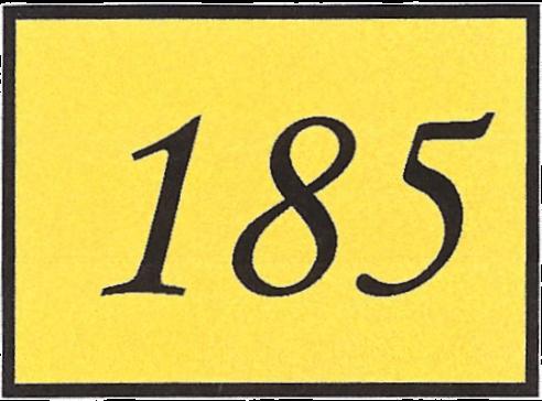 Number 185