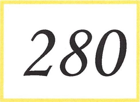Number 280