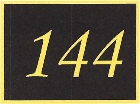 Number 144