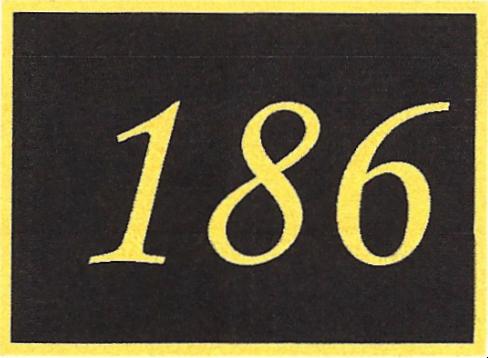 Number 186