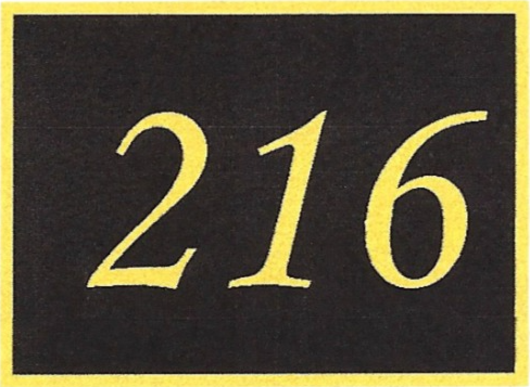 Number 216