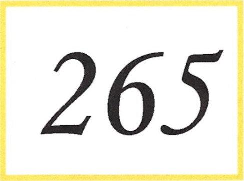 Number 265