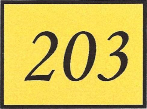 Number 203