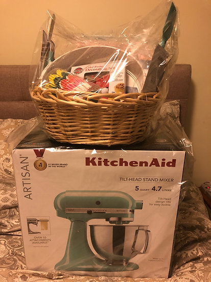 KitchenAid Professional Tilt Head Stand Mixer Raffle Ticket