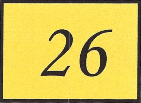 Number 26