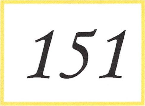 Number 151