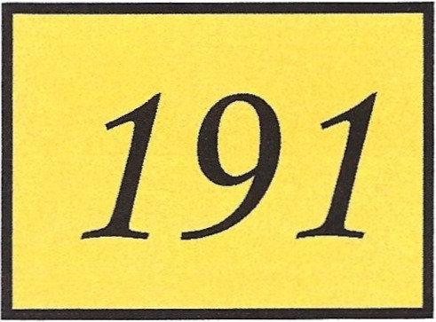 Number 191