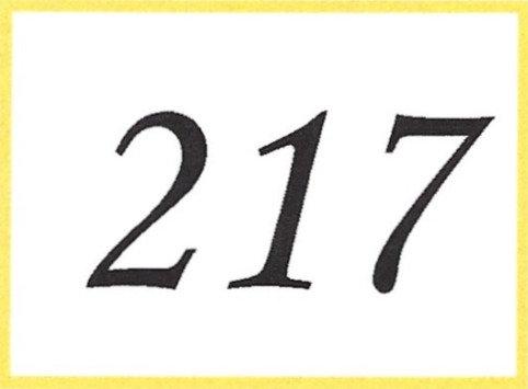 Number 217