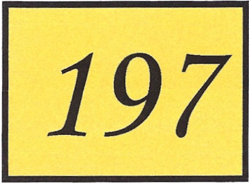 Number 197