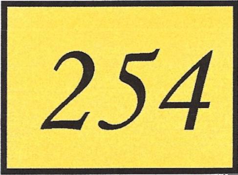 Number 254
