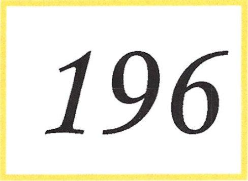Number 196