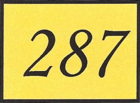Number 287