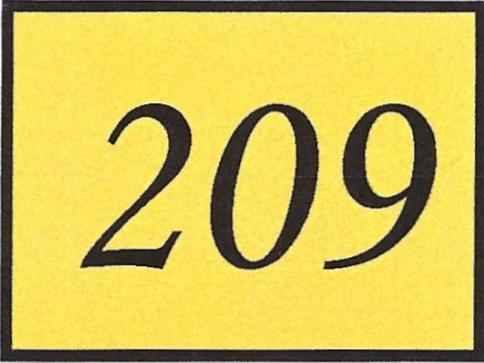 Number 209