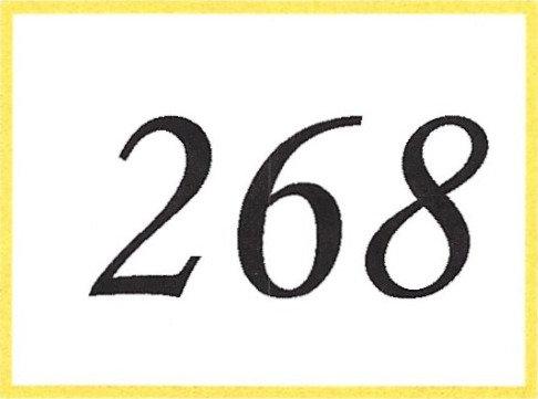 Number 268