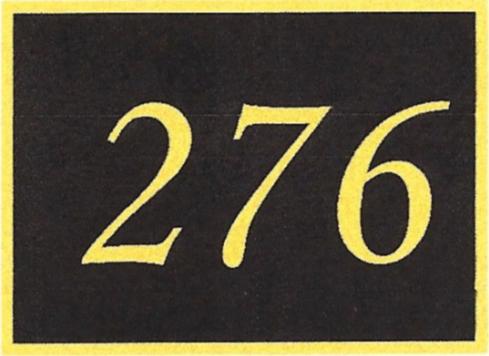 Number 276