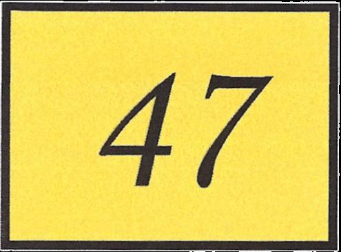 Number 47