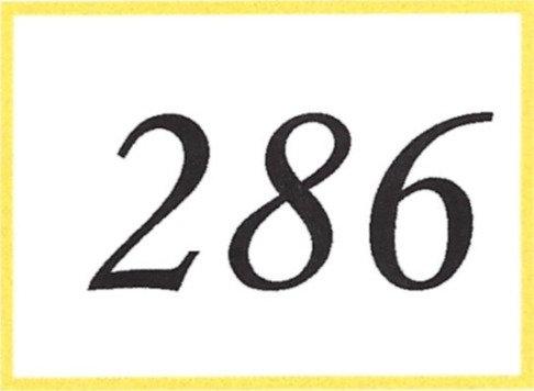 Number 286