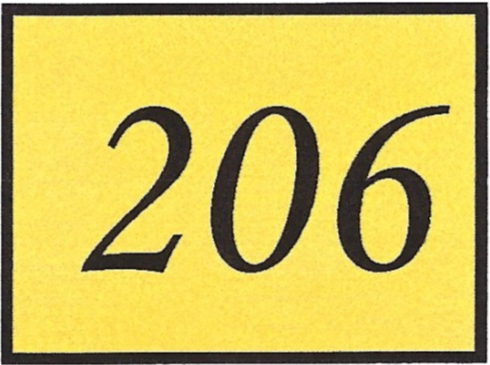 Number 206