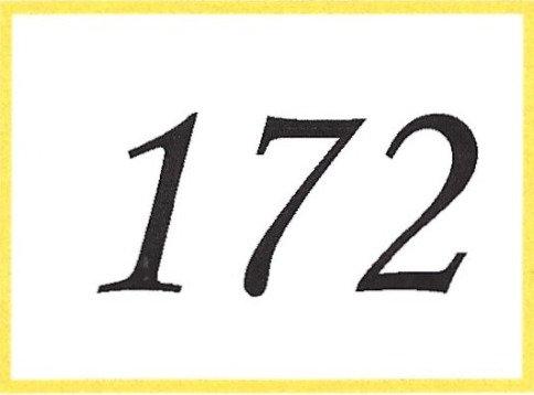 Number 172