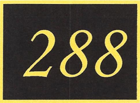 Number 288