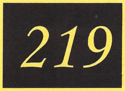 Number 219