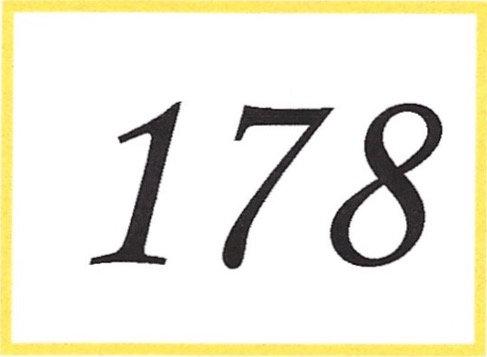 Number 178