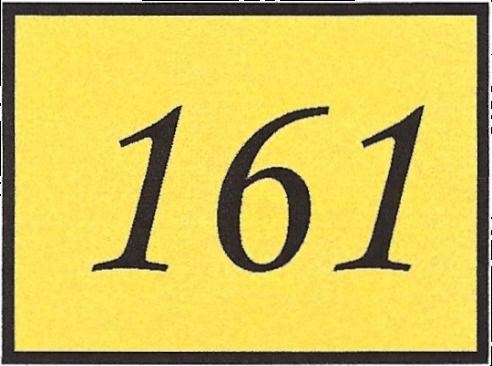 Number 161