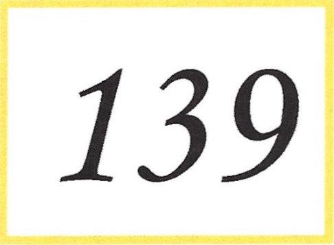 Number 139