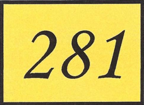 Number 281