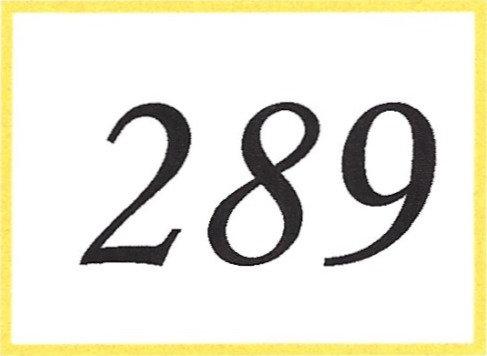 Number 289