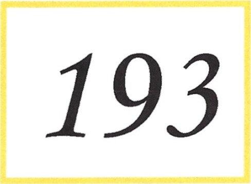 Number 193