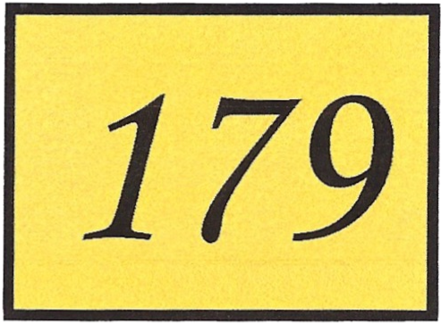 Number 179