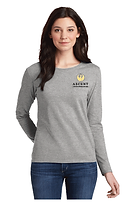 Ascent Ladies Grey Long Sleeve Tee.png
