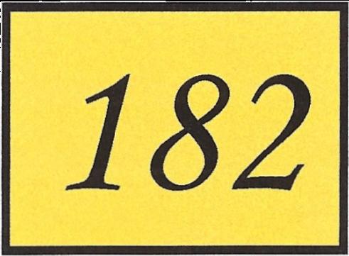 Number 182